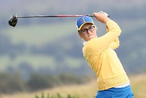 Hannah Darling starred in the Solheim Cup junior match at Gleneagles. Picture: WME IMG via Getty Images.