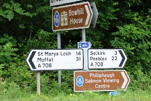 The A708 is to be closed west of Selkirk during the day for three weeks.