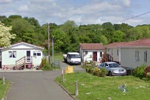 Residents at Double Dykes Caravan Park say they have been hit with vomiting bugs and bouts of diarrhoea. Picture: Google Street View