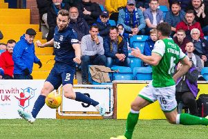 Stephen O'Donnell made a key assist against Hibs on Saturday. Picture: SNS