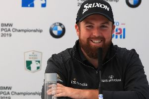 Shane Lowry speaks ahead of the BMW PGA Championship at Wentworth. Picture: Andrew Redington/Getty Images