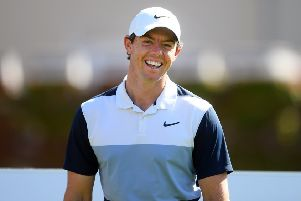 Rory McIlroy takes part in the BMW PGA Championship pro-am at Wentworth. Picture: Harry Trump/Getty Images