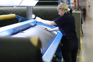 Scottish Leather Group's clients include Aston Martin and Mercedes. Picture: Elaine Livingstone