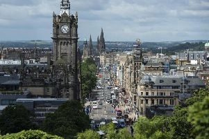 The digital map allows people to view the original Scots names for cities such as Embra/Edinburrae for Edinburgh. Picture: Getty Images