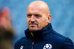 Gregor Townsend has named his team to face Ireland in Sunday's Rugby World Cup Pool A opener. Picture: Getty Images