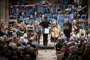 The BBC SSO, under Matthew Halls, premiered the last of three Prometheus-inspired Lammermuir commissions by Stuart MacRae