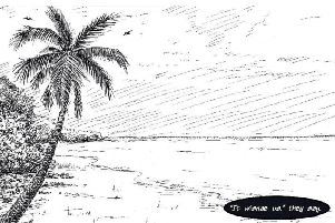 A page from Aye, It Was Aabody - a graphic novel designed for primary school children that has been published after a year-long project to explore one North East community's links to the slave trade. PIC: Contributed.