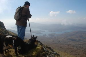 A crofter featured in Sin Fuil, or It's In The Blood, a documentary shot in South Uist which has now been screened at a film festival in Canada. PIC: BBC Alba.
