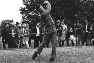 Bernard Gallacher in action in his prime.