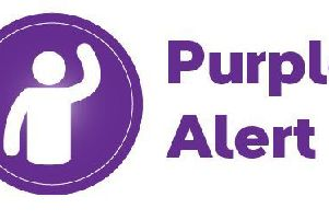The Purple Alert app