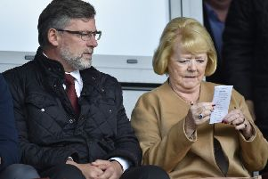 Ann Budge this week refuted suggestions that Hearts manager Craig Levein is 'bombproof'. Picture: Rob Casey/SNS