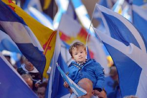 AUOB March for Independence'' Picture: Neil Hanna
