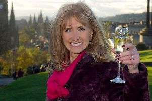 Jackie Bird's days of toasting the New Year on TV with a glass of bubbly are over ' more's the pity. Picture: BBC Scotland