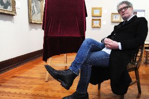 Jack Vettriano revealed his struggles during a visit to Kirkcaldy Galleries, which will host a celebration of his early years as an artist in 2020.