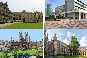 These are the top-rated universities in Scotland.