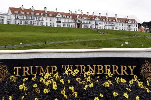 Trump Turnberry has run up losses of nearly �33m under the US president's ownership. Picture: Andy Buchanan/AFP/Getty