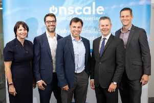 The announcement has been welcomed by finance secretary Derek Mackay, second from right. Picture: Contributed