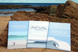 Robbie Kerr-Dineen's Surf Notes books come in three different designs