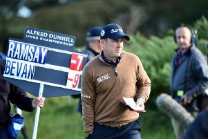 Richie Ramsay is the leading Scot after the first round of the Alfred Dunhill Links Championship. Picture: Mark Runnacles/Getty Images
