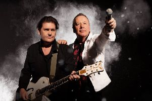 Simple Minds' Charlie Burchill and Jim Kerr.