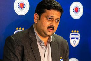 Mandar Tamhane, chief executive of Bengaluru FC, who have formed a new partnership with Rangers. Picture: Bruce White/SNS