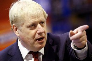 Boris Johnson is forging his own path to Brexit. Picture: Henry Nicholls/AFP/Getty Images