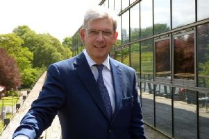 Glasgow-based Iomart is run by its long-serving chief executive Angus MacSween. Picture: Iomart