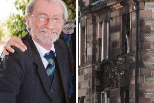 Gordon Sievewright, 69, from Edinburgh died after a suspected gas leak caused a major explosion in the four-story tenement building and a fire at around 5pm on Tuesday, September 10.