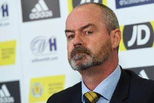 Steve Clarke announces his latest Scotland squad at Hampden