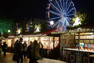 Edinburgh's winter festival attracts tourists from far and wide to the city centre (Picture: Phil Wilkinson)