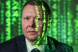 Scotland's tech industry supports almost 100,000 jobs, including DC Craig Potter, who works at the cyber crime operations unit at Police Scotland. Picture: Contributed