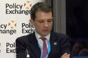 MP Andrew Bowie said the UK needs to learn from 'mistakes' such as handing over control of Edinburgh Castle to Scotland. Picture: PolicyExchangeUK/YouTube