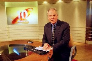 Peter Sissons at the helm of the BBC's News At Ten.