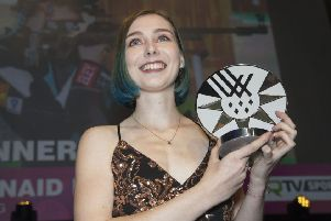 Seonaid McIntosh was named Female Athlete of the Year at the Scottish Sports Awards. Picture: Jeff Holmes