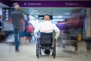Scotland's two busiest airports received perfect scores for facilities for disabled passengers