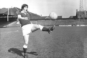 Rab Prentice's exploits are fondly remembered by the Tynecastle faithful