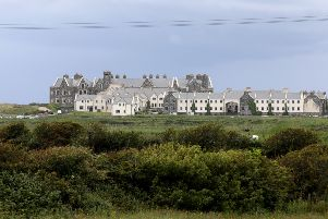 The International Golf Links relies on loans provided by Trump. Picture: Paul Faith/Getty