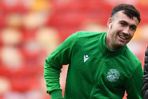 Stevie Mallan sympathised with Derek McInnes as the Aberdeen manager raged over the red-card decision. Picture: SNS.