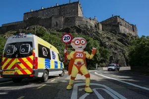 Average speeds in Edinburgh have only reduced by 1.3mph since the 20mph roll-out