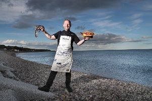 Calum Richardson of The Bay Fish & Chips decided that his firm should be  more eco-friendly