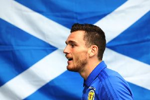 Steve Clarke has stressed Andy Robertson's commitment to the Scotland cause. Picture: Getty Image