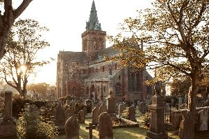 St Magnus Cathedral, Kirkwall. Founded in 1137 by Earl Rognvald in honour of his uncle St Magnus. Picture: Destination Orkney