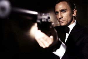 Daniel Craig stars in Casino Royale - his first outing as James Bond