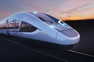 A potential design for an HS2 train. Picture: Siemens/PA Wire