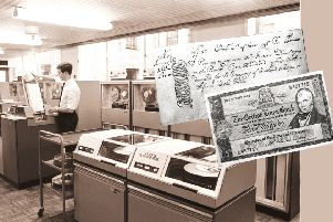 The computer room of the National Commercial Bank in Edinburgh in October, 1968: another chapter in Scotland's long history as a centre for technological developments. Picture: Ian Brand