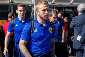 Johnny Russell has clocked up the air miles with Scotland. Picture: SNS