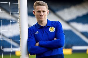 Scott McTominay returns from suspension for the San Marino game. Picture: Craig Williamson/SNS