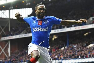 Jermain Defoe has already scored 12 goals for Rangers this season. Picture: Rob Casey/SNS