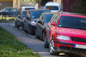 Pavement parking can block off sidewalks and make life difficult for the less mobile. Picture: Shutterstock.