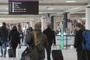 Passengers are being told to arrive at least two and a half hours before their flights at Edinburgh Airport (Photo: Edinburgh Airport)